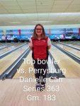 Girls Varsity Bowling beats Perrysburg 2066 – 1887
