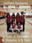 Girls Varsity Bowling finishes 3rd place at OHSAA Sectionals and advances to Districts