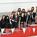 Girls Swim and Dive finishes 2nd at Section Finals –
