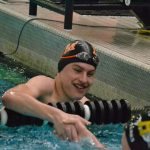Tiger Swimmers and Divers top Hutchinson 97-87
