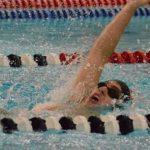 Boys Varsity Swimming beats Orono 65 – 37