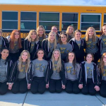 Cougarettes At State Today and Tomorrow