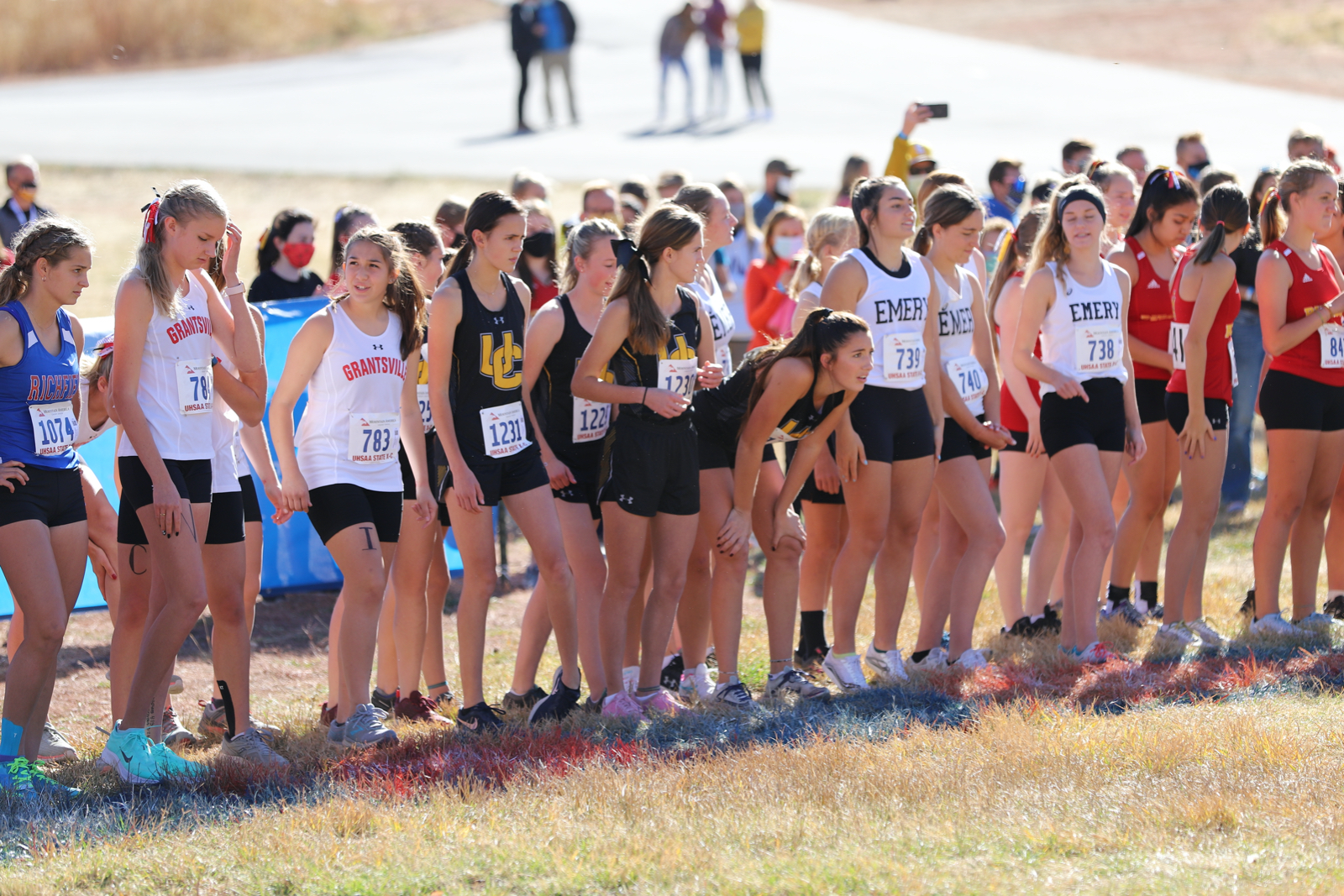 Boys and Girls State Cross Country by Steven Winterton