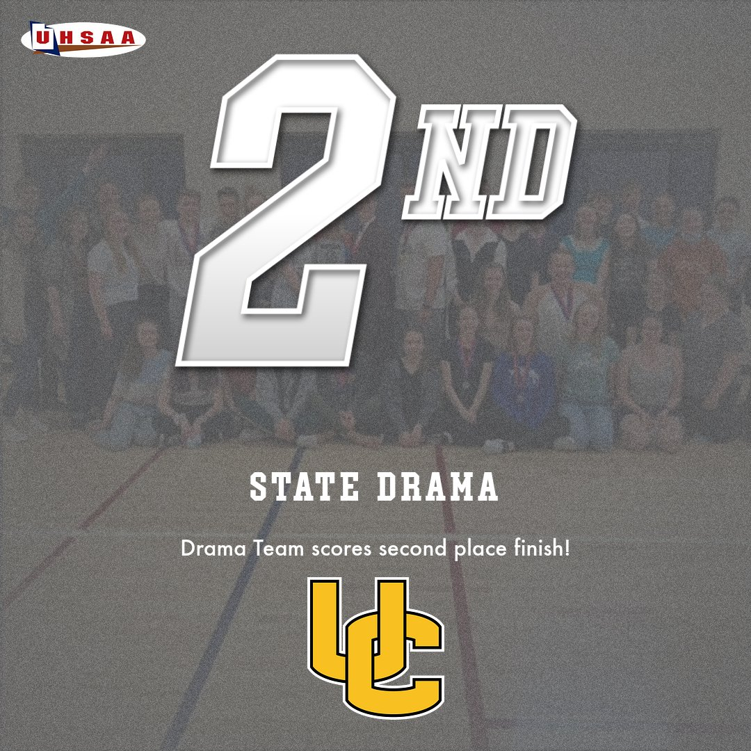 Drama Second at State Competition