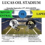 Football Pre-Sale Tickets for Game at Lucas Oil Stadium