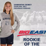Samantha Dewey Big East Rookie of the Week