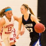 Eastview Varsity Girls Basketball Defeats Lakeville North 61-50