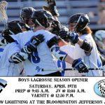 Boys Lacrosse Season Opener