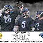 Boys Lacrosse vs. Rosemount 4/22/14