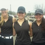 Eastview High School Golf Varsity Girls finishes 3rd place at Andover Invitational