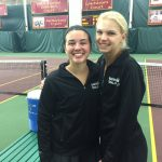 Melissa Barry and Taylor Kopfer Take 4th at State