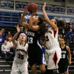 Eastview Girls Junior Varsity Basketball defeats Farmington 56-29