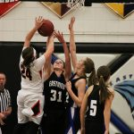 Eastview Girls Varsity Basketball defeats Farmington 81-28