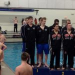 Eastview High School Boys Varsity Swimming finishes 3rd place