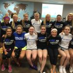 Eastview Gymnastics Volunteers at Feed My Starving Children