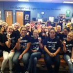 EVHS Cheerleaders Give Back