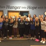 Eastview Gymnastics Helps at Feed My Starving Children