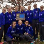 Girls Cross Country Team Section 3AA Champions
