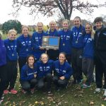 EV Girls CC-Section Champs and STATEBOUND!