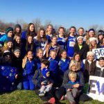 Girls CC finishes season with 11th place finish at State Meet.
