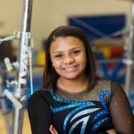 Eastview Gymnast Bailey Davidson Competes at State