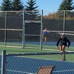 Eastview High School Girls Varsity Tennis beat South High School 7-0