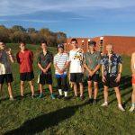 Boy CC competes at Eagle Last Chance Meet