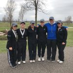 Eastview High School Girls Varsity Golf finishes 2nd place