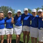 Eastview High School Girls Varsity Golf finishes 5th place