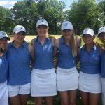 Eastview High School Girls Varsity Golf falls to Rosemount High School 342-391