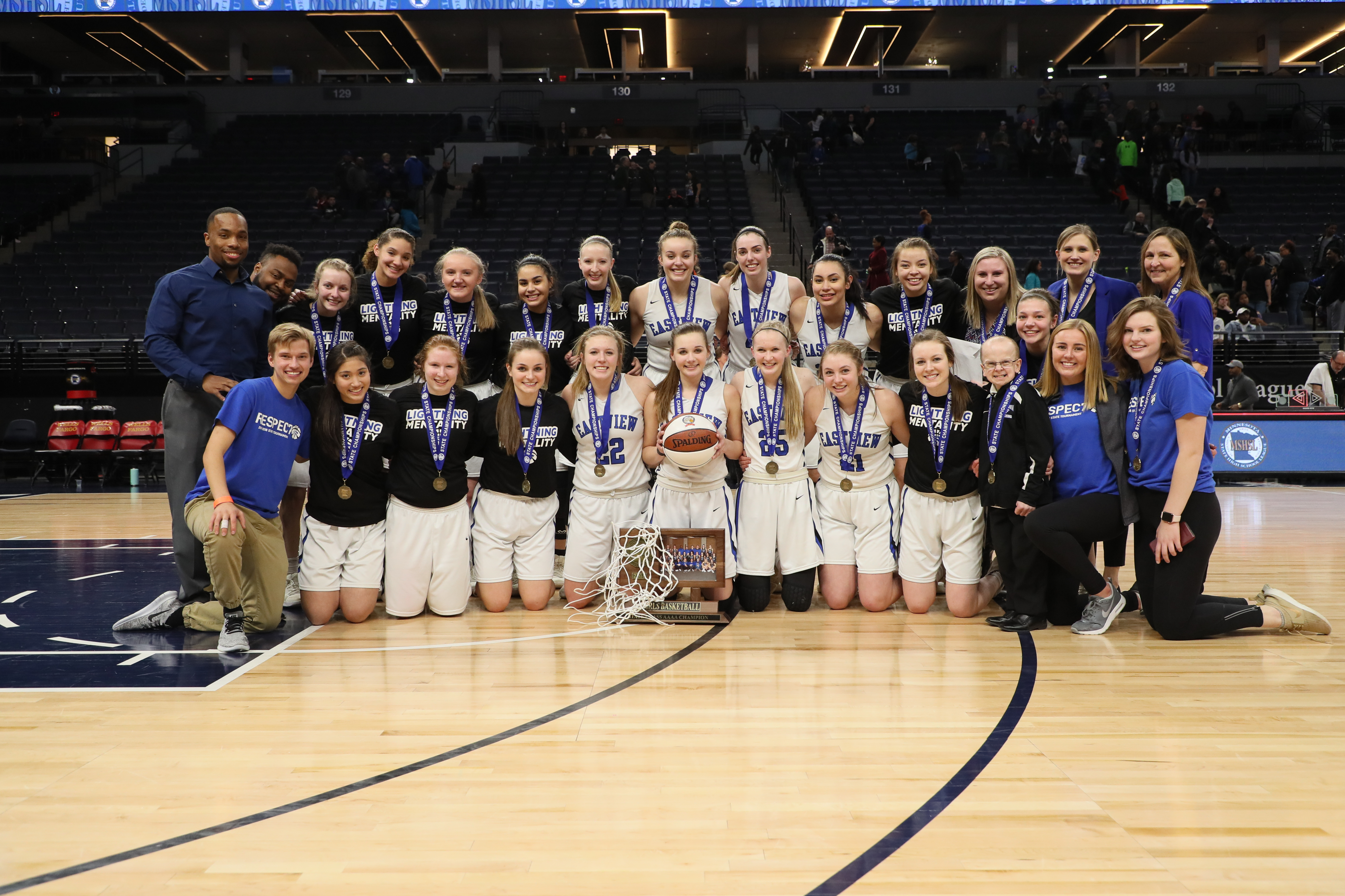 Girls Basketball is State Champs!
