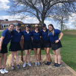 Girls Junior Varsity Golf falls to Thomas Jefferson 240 – 230