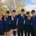 Girls Varsity Golf finishes 4th place at SSC Tournament @ Crystal Lake Golf Course