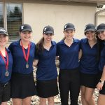 Girls Junior Varsity Golf finishes 2nd place at Tournament @ Emerald Greens Golf Course