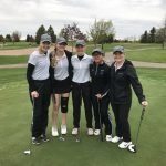 Girls Varsity Golf finishes 4th place at Apple Valley, , Lakeville North, Lakeville South, Cannon Falls, Henry Sibley, Simley, South Saint Paul, St. Croix Lutheran, Rosemount