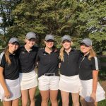 Girls Varsity Golf finishes 10th place at Andover Invite