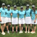 Girls Junior Varsity Golf finishes 2nd place at District 196 Championships