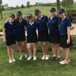 Girls Junior Varsity Golf finishes 2nd place at Invitational @ Heritage Links Golf Course