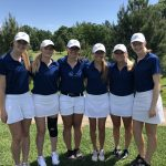 Girls Varsity Golf finishes 4th place at Sections Day 1