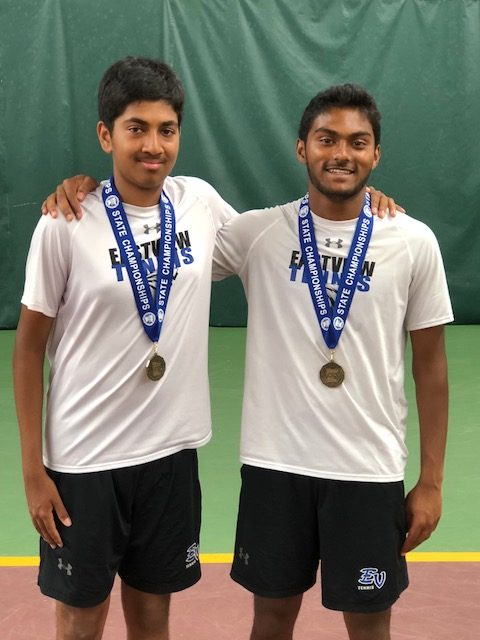 State Doubles Tennis Champions!