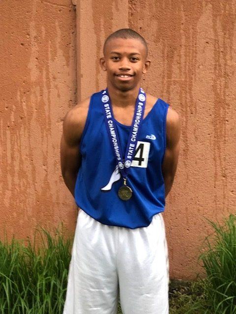 State 800 Meter Champion!