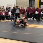 Wrestlers fight in loss to #7 ranked New Prague