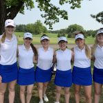Girls Varsity Golfers advance to Day 2 of Sections