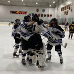 Girls Junior Varsity Hockey beats Rosemount 4 – 3