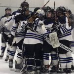 #18 Girls Varsity Hockey down Irish 3 – 0