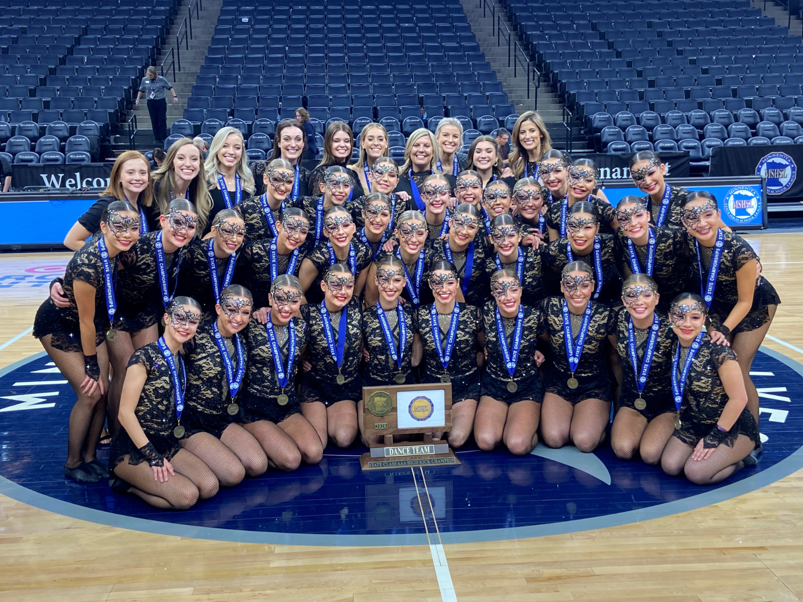 LDT is STATE CHAMPIONS in BOTH Jazz and High Kick!