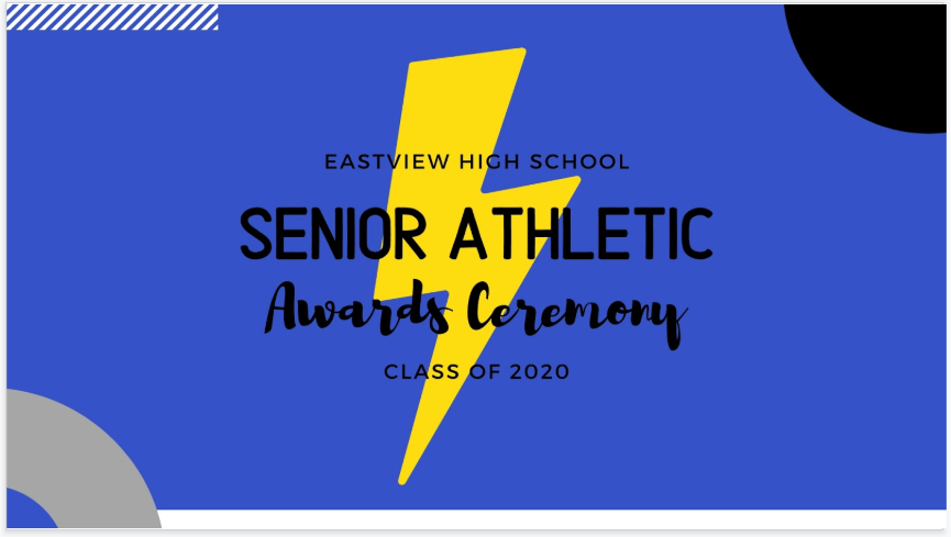 Virtual Senior Athletic Awards Ceremony