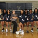 Varina High School Girls Varsity Volleyball beat Armstrong High School 3-0