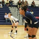 Varina High School Girls Varsity Volleyball falls to Hanover High School 0-3