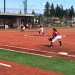 Sandy High School Varsity Softball beat The Dalles / Dufur 5-4